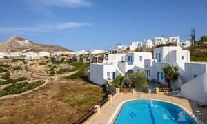Folegandros Island, in the Cyclades, Greece