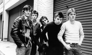 Martin Bradley, second from left, with the rest of the Undertones in 1978.