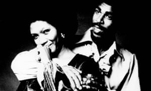 Bob Andy with Marcia Griffiths, with whom he had a long-lasting musical and romantic relationship.