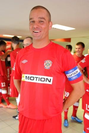 Petr Svancara, the man behind the dream of playing at Za Luzankami again.