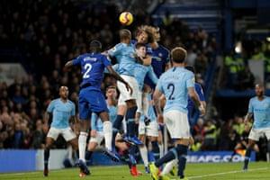 David Luiz gets Chelsea's second goal