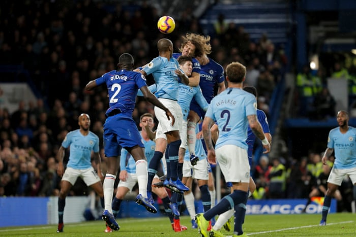 Chelsea 2 0 Manchester City Premier League As It Happened