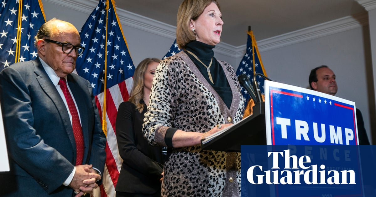 Trump campaign cuts ties with attorney Sidney Powell after bizarre election fraud claims – The Guardian
