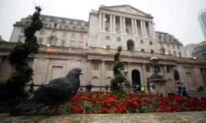 The Bank of England in London