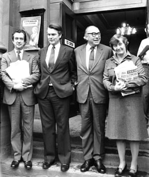 Bill Rodgers, David Owen, Roy Jenkins, Shirley Williams