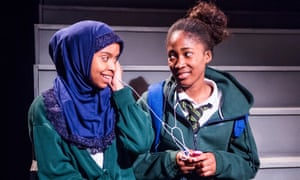 Tsion Habte and Adelayo Adedayo in Cuttin' It. Charlene James's acclaimed play started out on radio and won a BBC Audio drama award.
