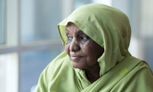 Fatma Abdelmajid travels six hours on the bus to reach the Khartoum breast cancer clinic for treatment.
