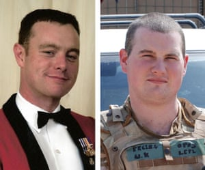 L/ Sgt Chris Casey (left) and L/Cpl Kirk Redpath