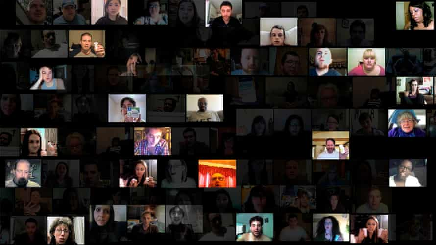 Natalie Bookchin's From Testament, a series of collective self-portraits made from a montage of hundreds of found online video diaries.