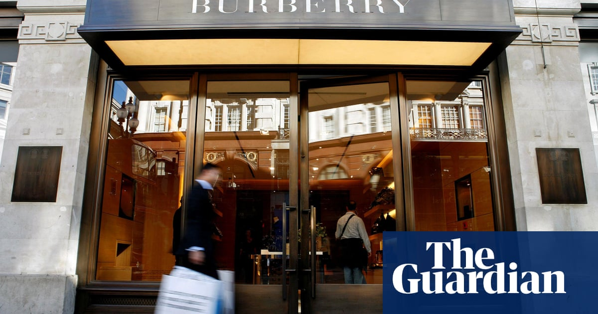 450534251924 Burberry s sales fall as export markets suffer