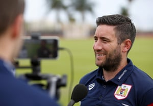 There's pressure on Lee Johnson this season at Bristol City.