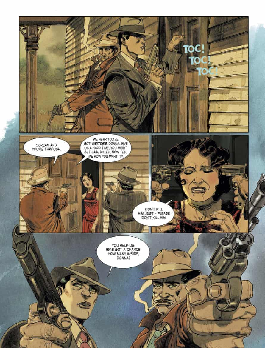 Gun to thea head: a page from Triggerman