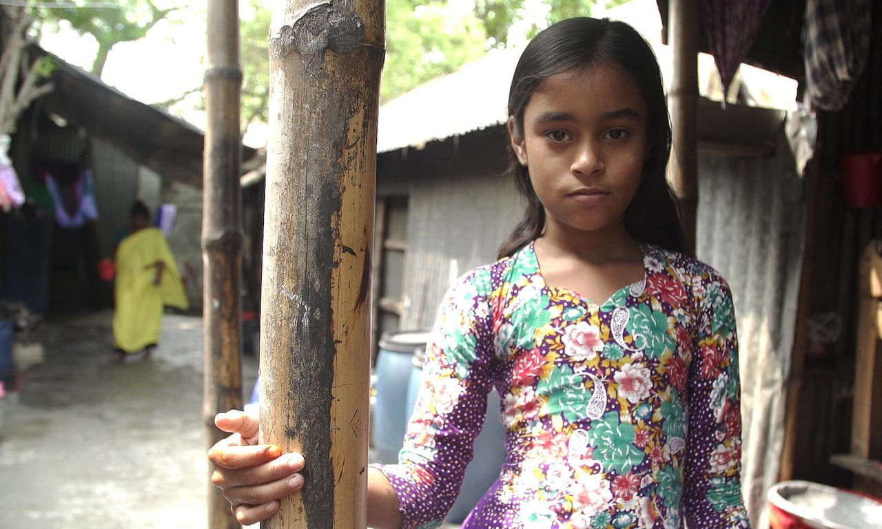 The children trapped in Bangladesh's brothel village – video
