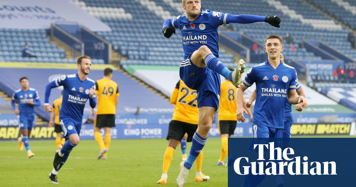 Rodgers delighted as Vardy penalty secures Leicester win over Wolves