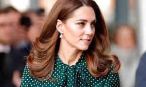 The Duchess of Cambridge wearing an LK Bennett dress