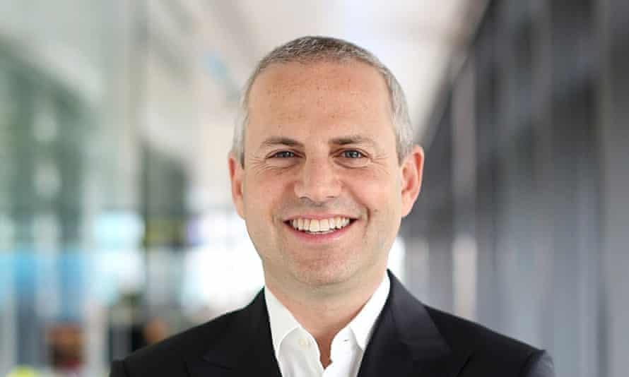 Tim Steiner, the CEO of Ocado.