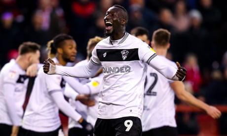 Martin O'Neill's Nottingham Forest return ruined by Bristol City's Diédhiou