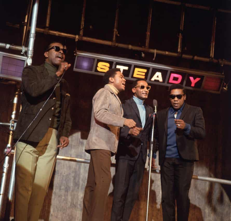 The Four Tops on the TV show Ready, Steady, Go.