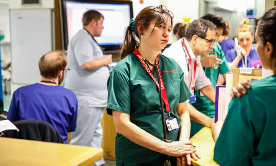 Consultant Dr. Diana Hulbert, working in University Hospital, Southampton in the Accident and Emergency department.
