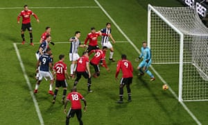 Gareth Barry scores after a goalmouth scramble for West Brom's first goal under Alan Pardew.
