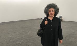 Doris Salcedo calls her artwork Fragments an 'anti-monument'. 'A monument is a way of forgetting something, of making it invisible,' she said. 'Weapons and war are not something that should be celebrated.'