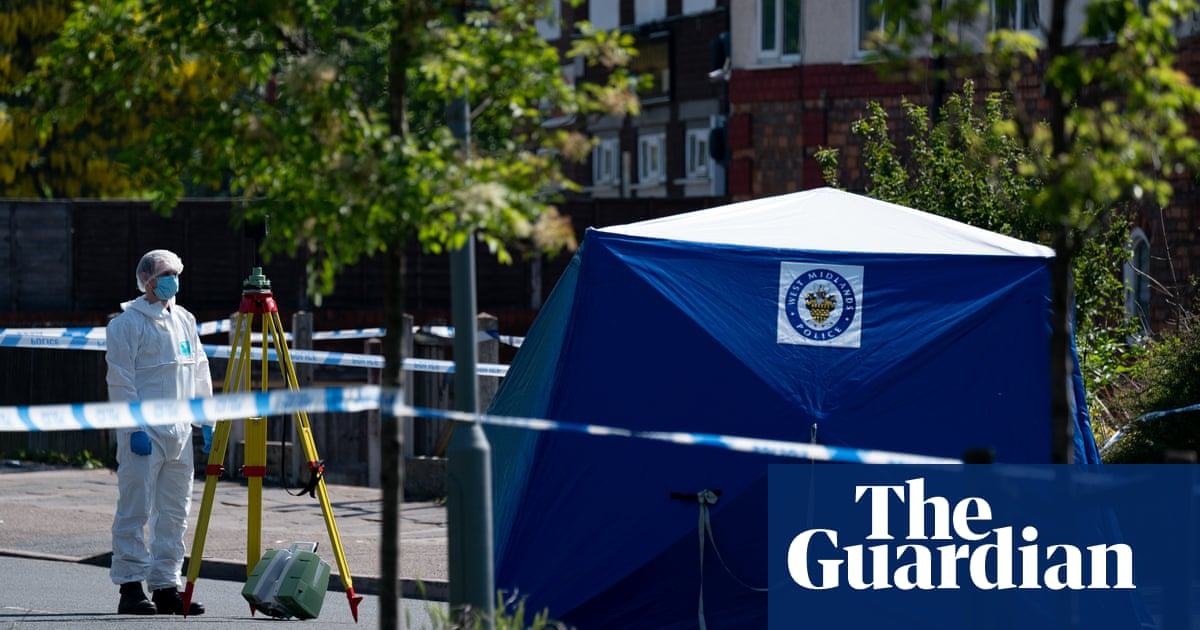 Boy, 14, stabbed to death in Birmingham
