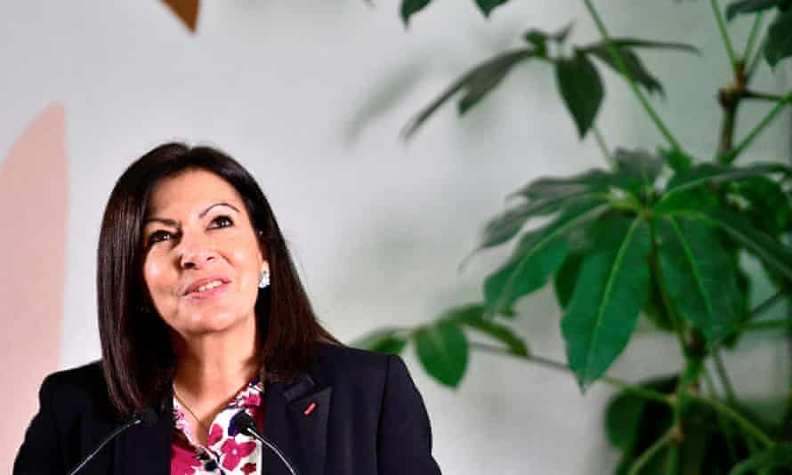 Anne Hidalgo, mayor of Paris