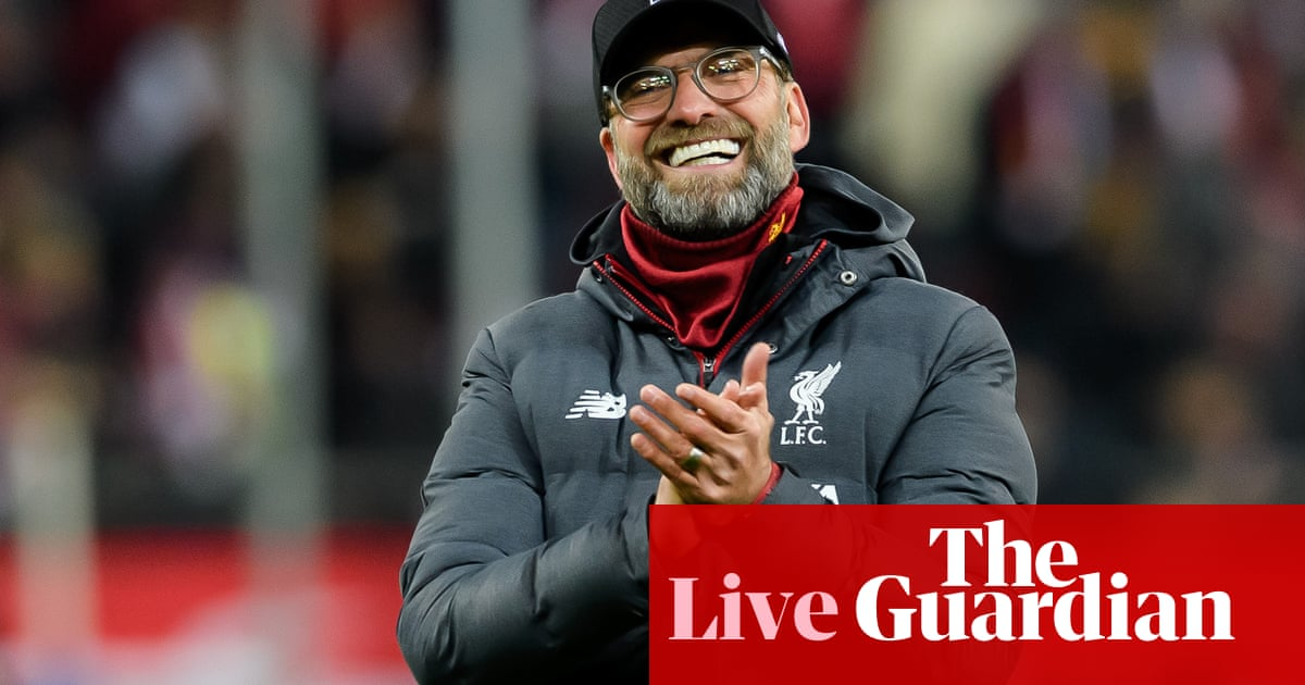 Klopp signs new Liverpool deal and more: football countdown – live!