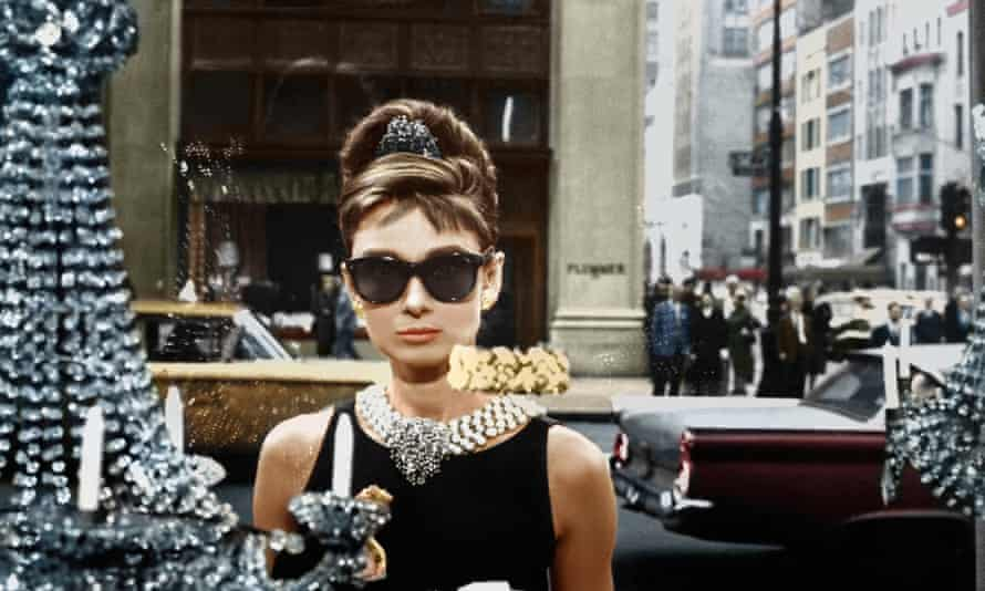 Audrey Hepburn in the film Breakfast at Tiffany's