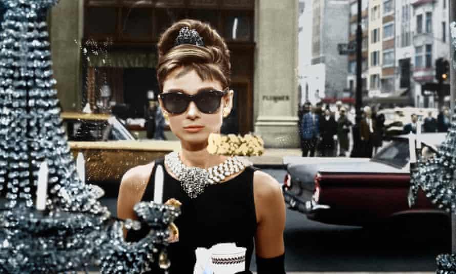 Audrey Hepburn in the 1961 adaptation of Breakfast At Tiffany's.