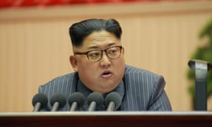 Kim Jong-un, the North Korean leader, has been in a war of words with Donald Trump