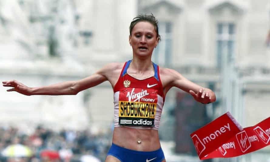 Liliya Shobukhova had her 2010 London marathon victory annulled for doping.