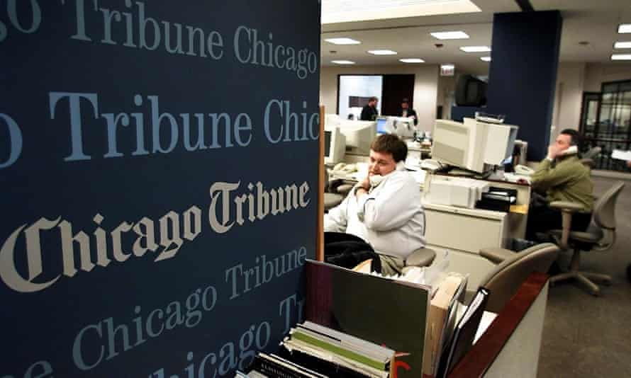 The Chicago Tribune, as well as other newspapers in the Tribune Publishing company, will be sold to hedge fund Alden Global Capital.