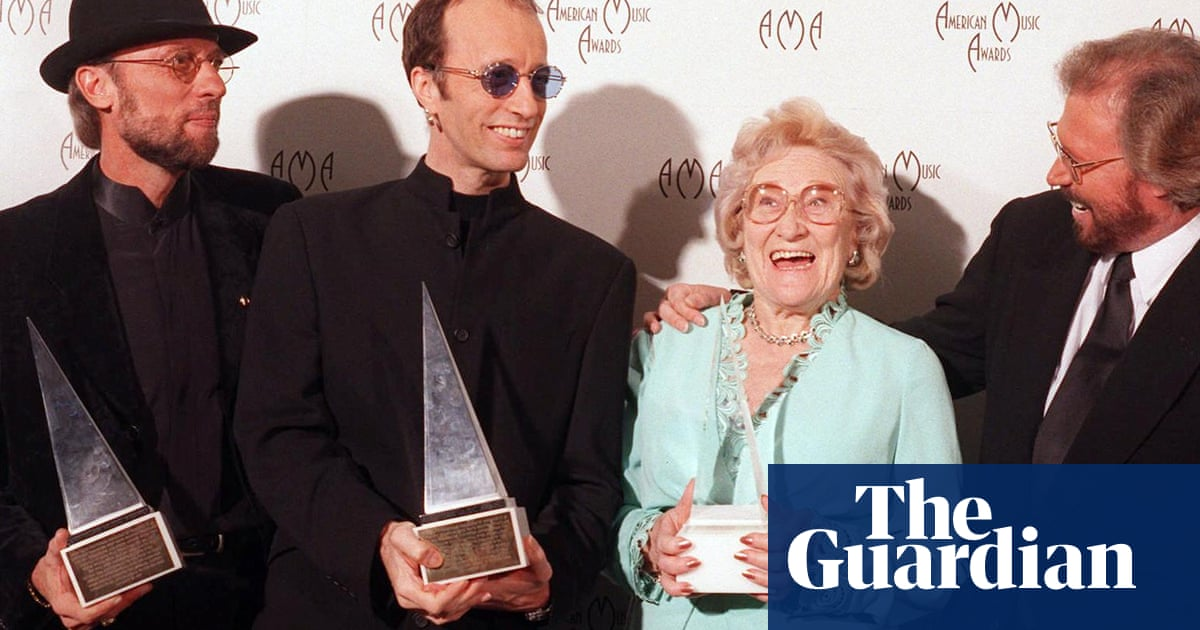 Barbara Gibb Mother Of The Bee Gees Dies Aged 95 Music The Guardian