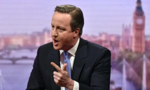 David Cameron on BBC1's The Andrew Marr Show