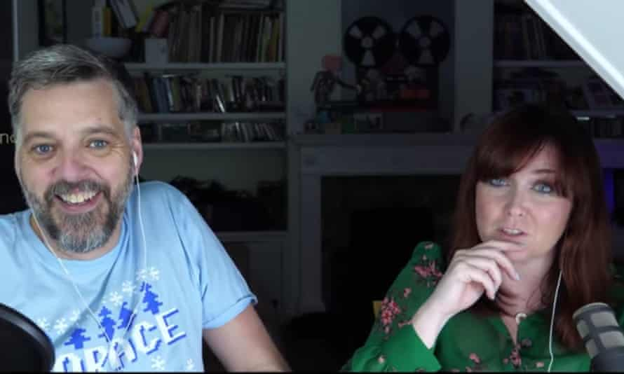 'Saying yes is the way forward' ... Iain Lee and Katherine Boyle on Twitch