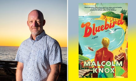 Malcolm Knox and his book Bluebird.