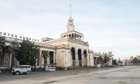 Sukhumi Train Station.