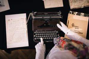 Helena Cass' typewriter