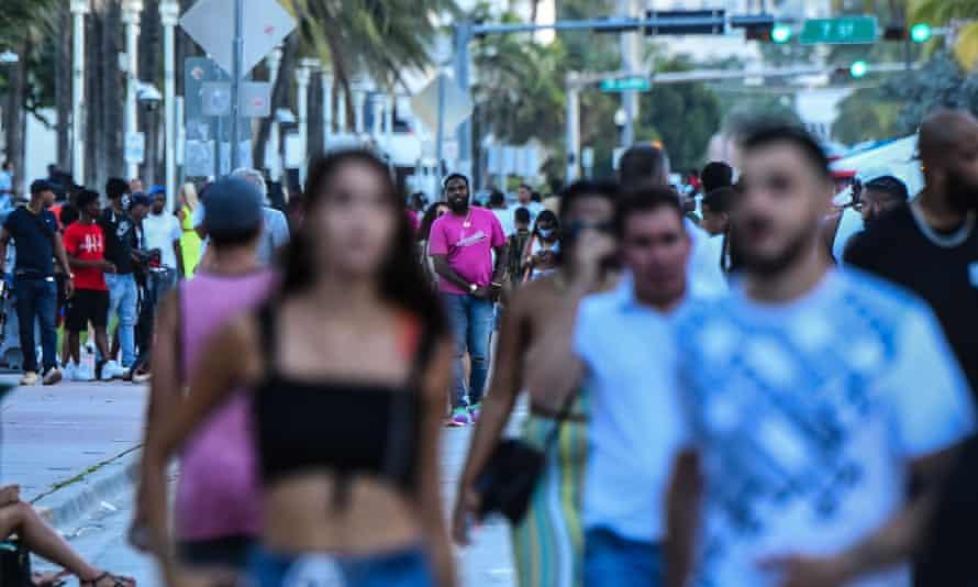 Ocean Drive in Miami last week.