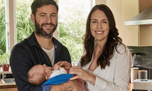 New Zealand's prime minister Jacinda Ardern and partner Clarke Gayford who have become engaged.