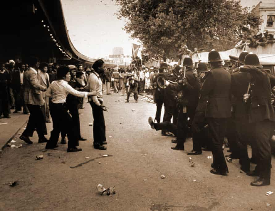 In 1976, Pascall reported from the Notting Hill carnival when battles broke out between black youngsters and the police.