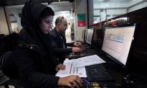 Iran online
