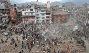 The Nepal earthquake was among several natural disasters that caused billions of dollars worth of damage last year.