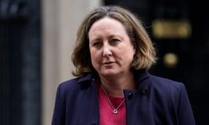 The UK secretary of state for international development, Anne-Marie Trevelyan.