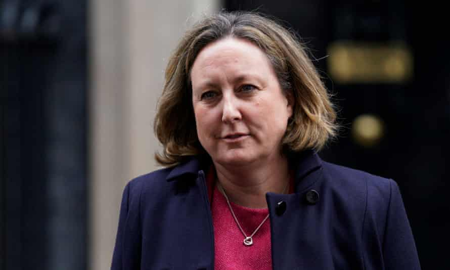 The UK secretary of state for international development, Anne-Marie Trevelyan.