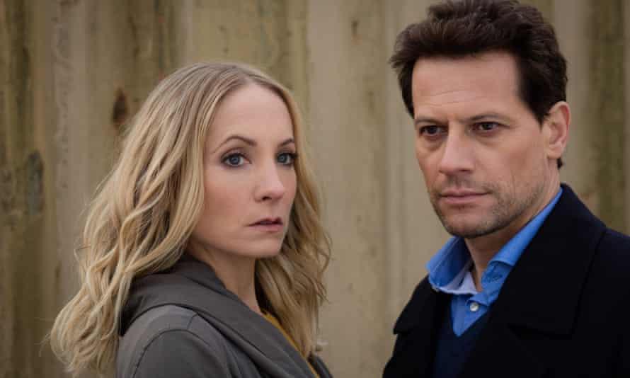 Joanne Froggatt and Ioan Gruffudd in Liar.