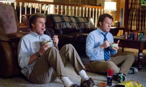 Will Ferrell and John C. Reilly in the 2008 manchild film, Stepbrothers.