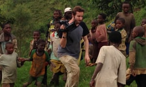 Nick Louvel in Bwero, DRC during our first shoot, November 2013