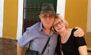 Les and Louise Buchanan, who live in Barcelona
